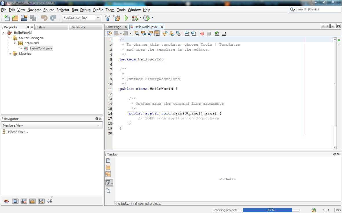 Java Development 101 – Hello World | Binary Wasteland