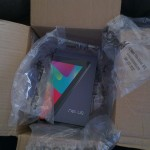 Nexus 7 - Unpacking Packing