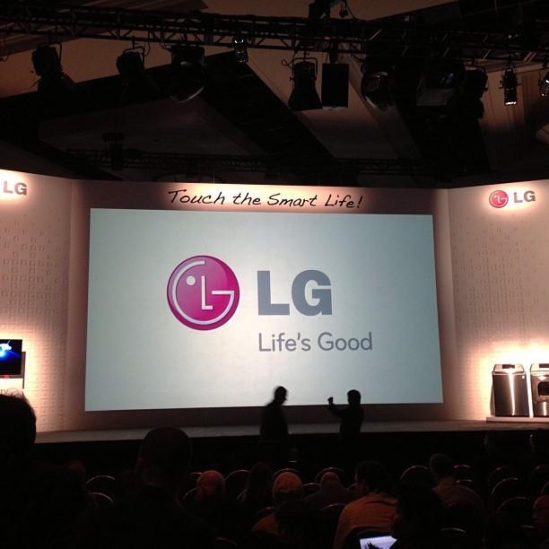 CES 2013 Press Day – LG