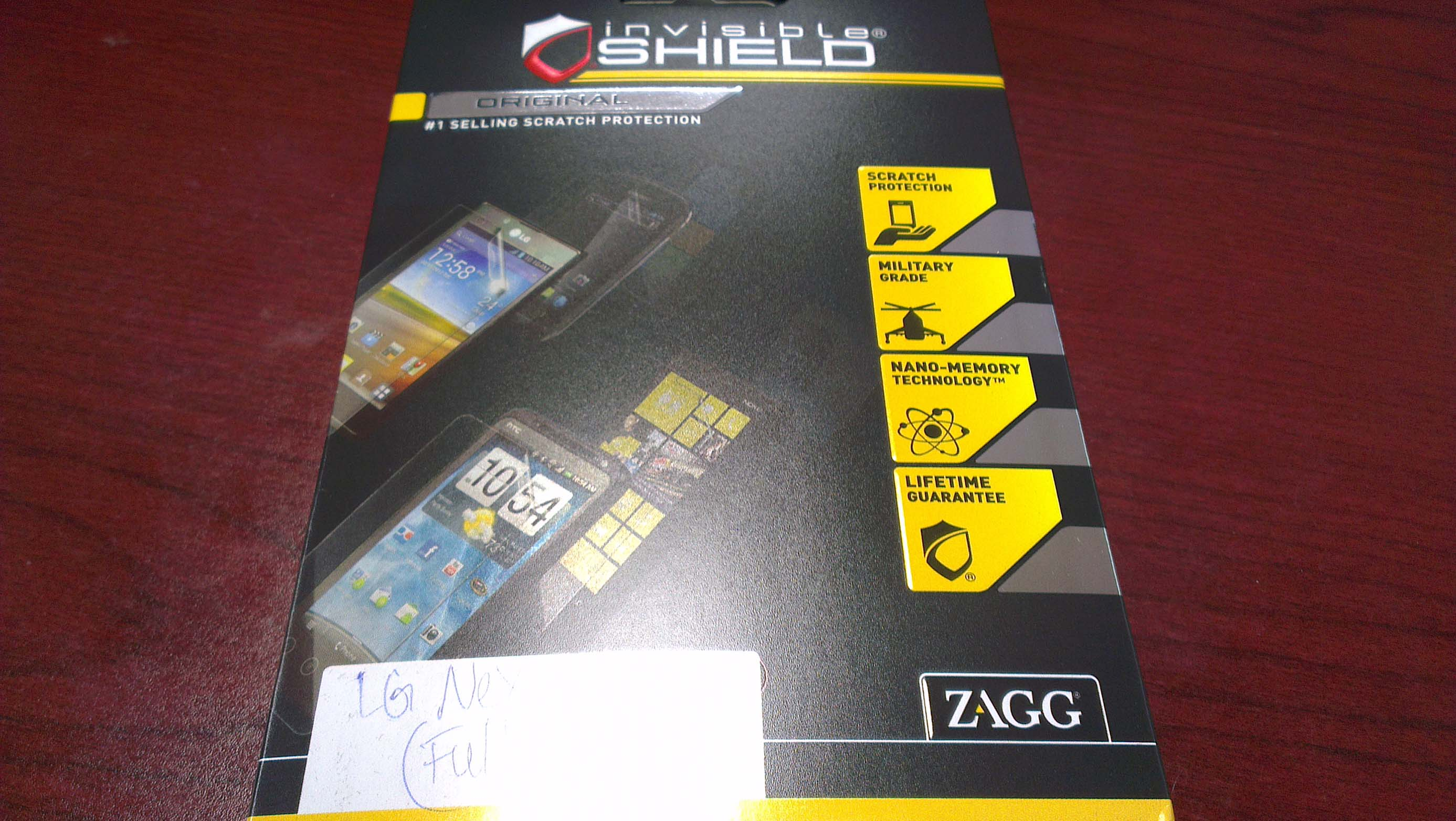 Review: ZAGG invisibleSHIELD Nexus 4 Full Body