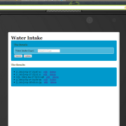 Water Intake for BlackBerry 10 Updates