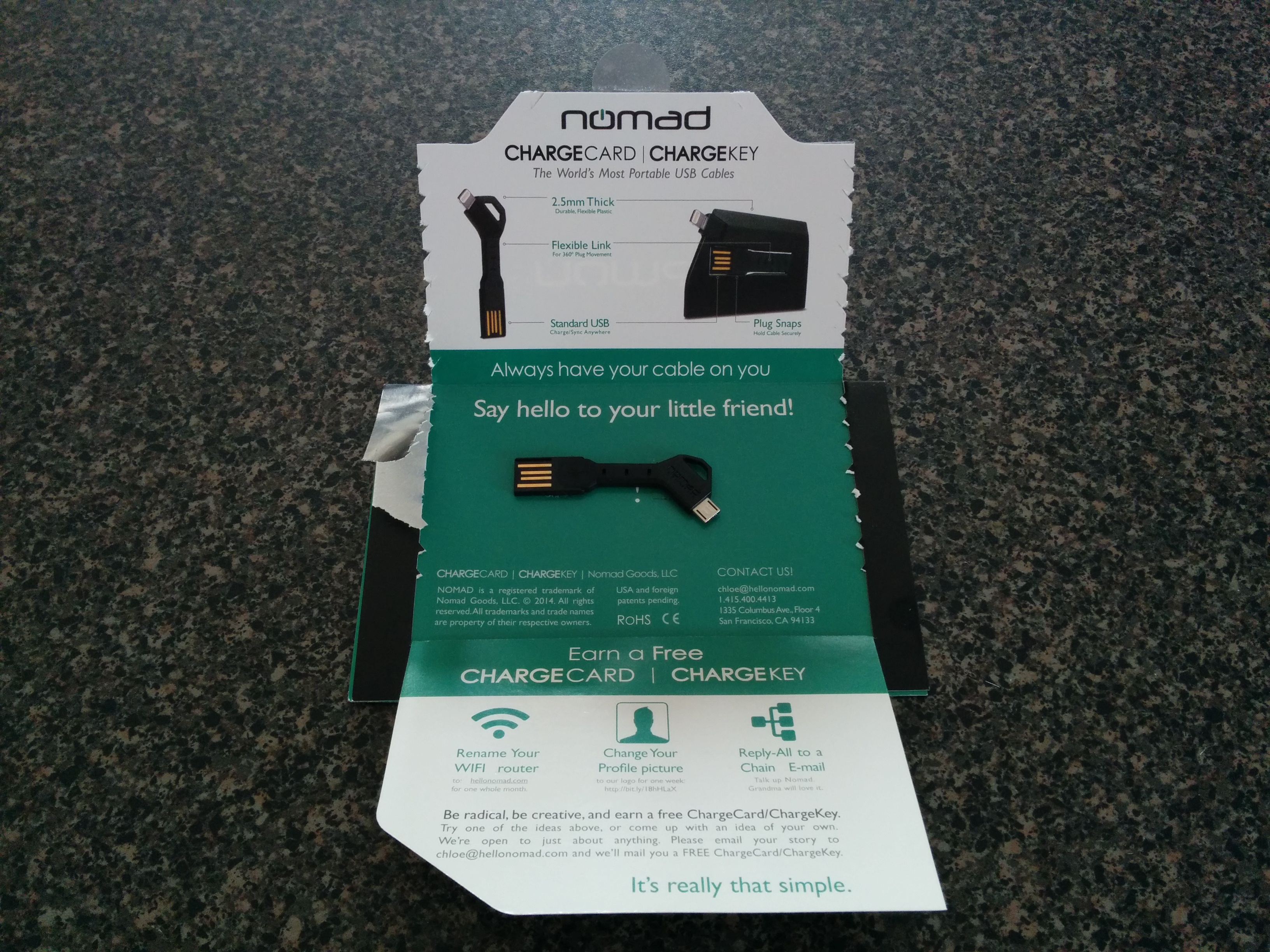 Nomad's Latest Child – ChargeKey