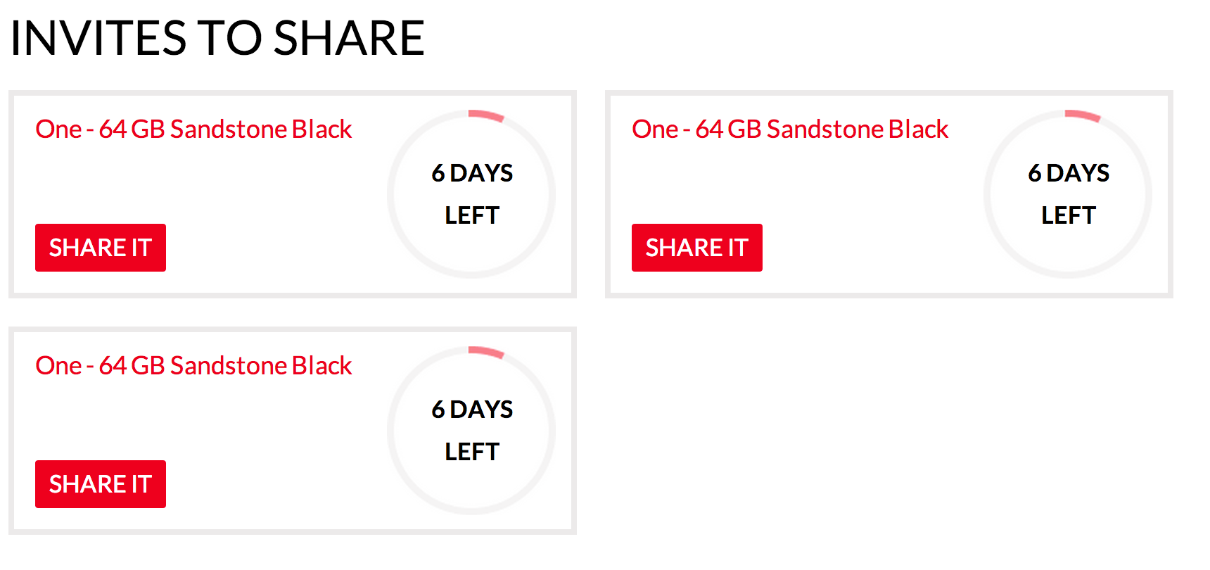 3 Invites To Giveaway For OnePlus One