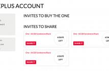 3 More Invites - OnePlus
