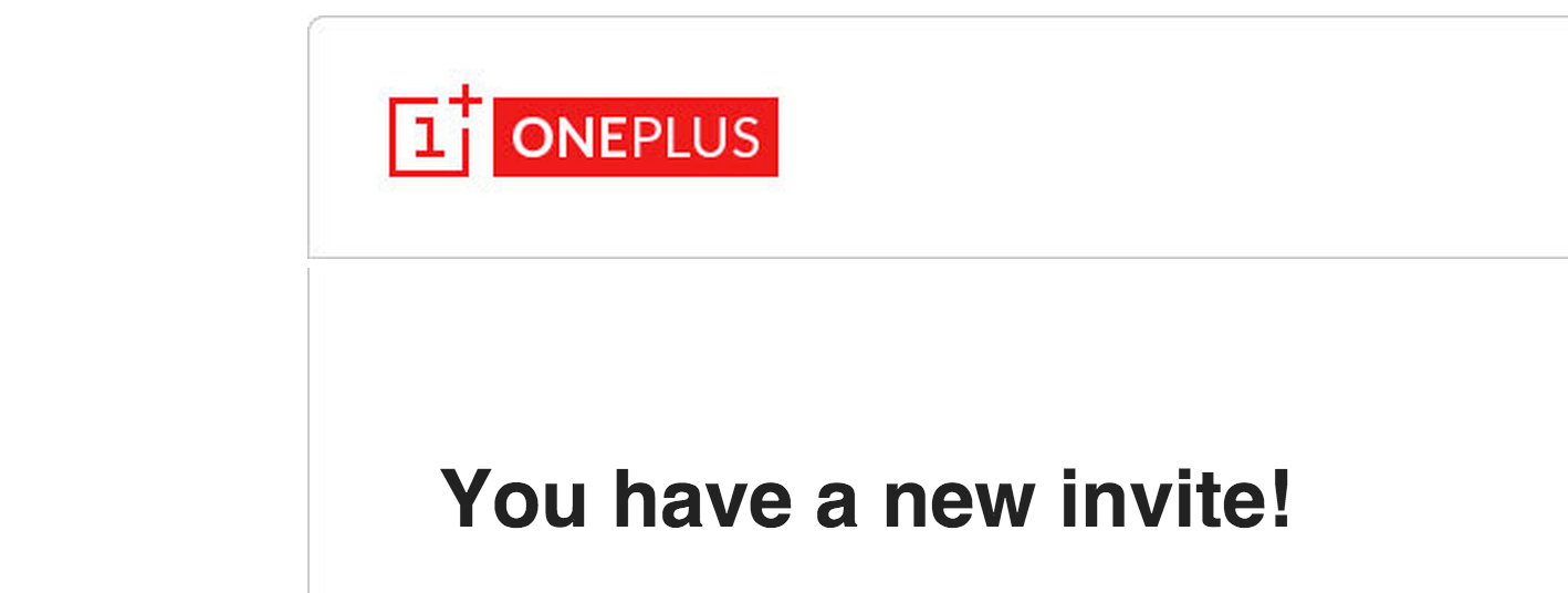 GIVEAWAY: 1 @OnePlus One Invite